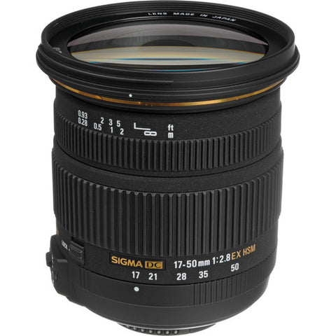 Sigma 17-50mm f/2.8 EX DC OS HSM Zoom Lens for Nikon