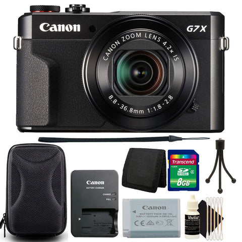 Canon PowerShot G7x Mark II 20.1MP Digital Camera with Accessory Kit