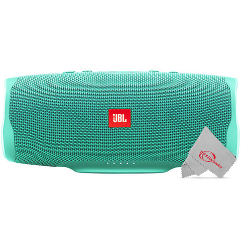 JBL Charge 4 Portable Wireless Bluetooth Waterprrof Speaker (Teal)