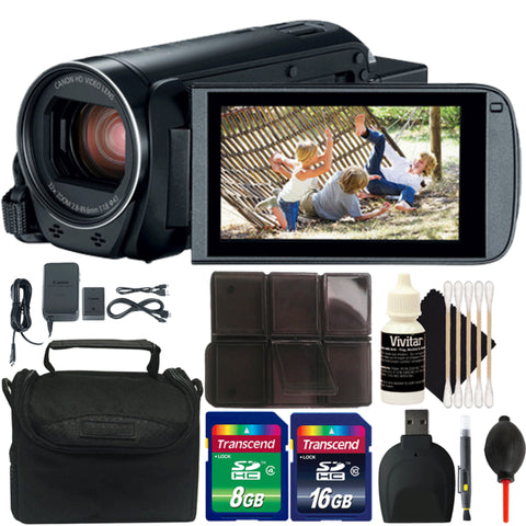 Canon VIXIA HF R800 HD Camera Camcorder with Accessories