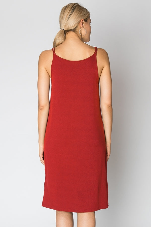 Hyfve Jersey Cami Sheath Dress/Nighty
