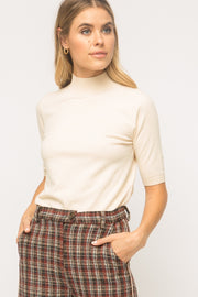 Mystree Luxe Half Turtleneck