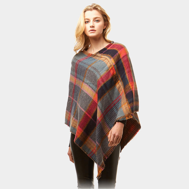 Plaid Perfect Poncho