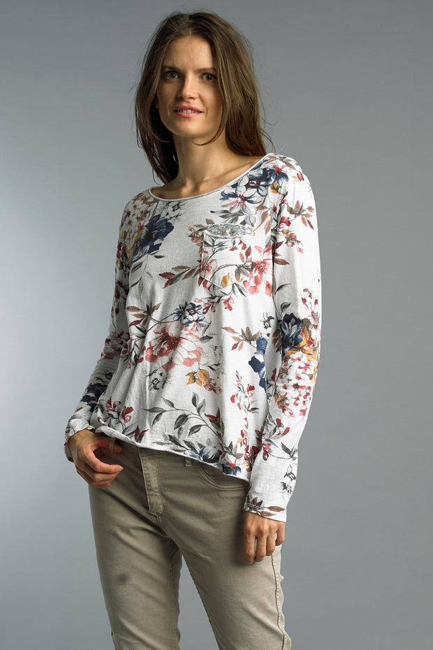 Flowers of Spring Top