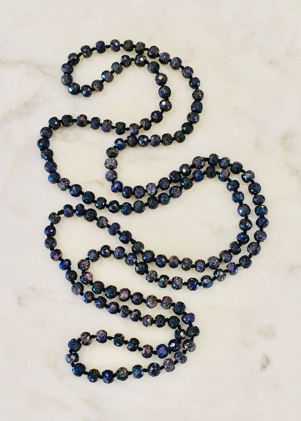 Turkish Long Sapphire Necklace