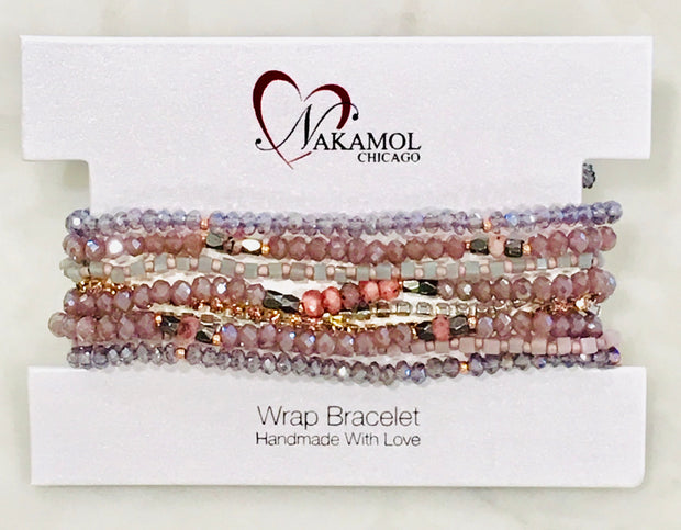 Nakamol Chicago 9 Strand Adjustable Bracelet