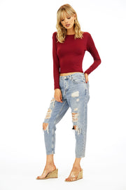 Veronica M Cropped Long Sleeve