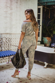 Veronica M French Terry Jumpsuit