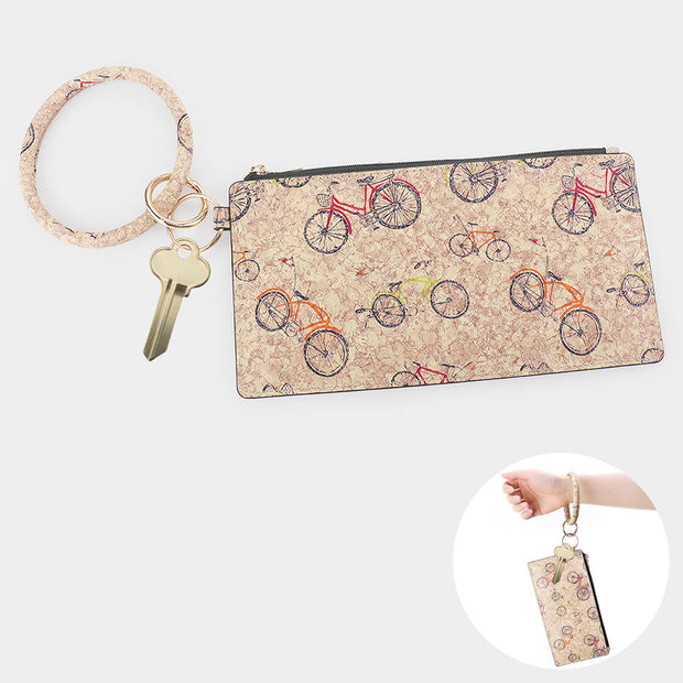 Everyday Printed Wristlet