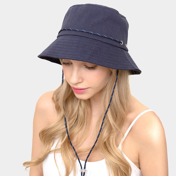 Cutest Chin String Bucket Hat