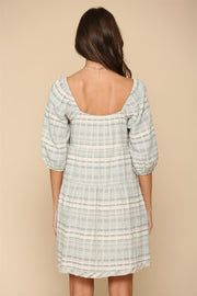 By Together Sage Jacquard Dress