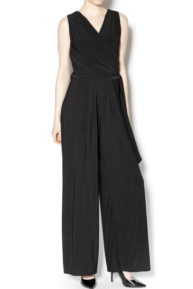 Last Tango Sleeveless Sexy V-Neck Jumpsuit