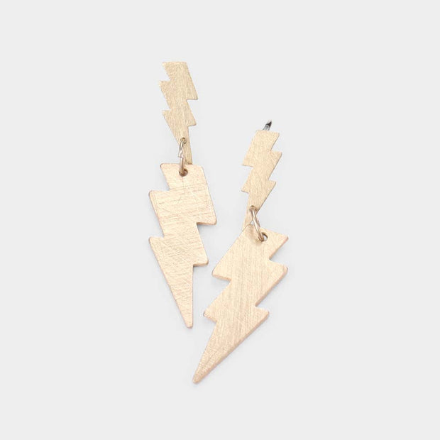 Cool Lightning Bolt Earrings