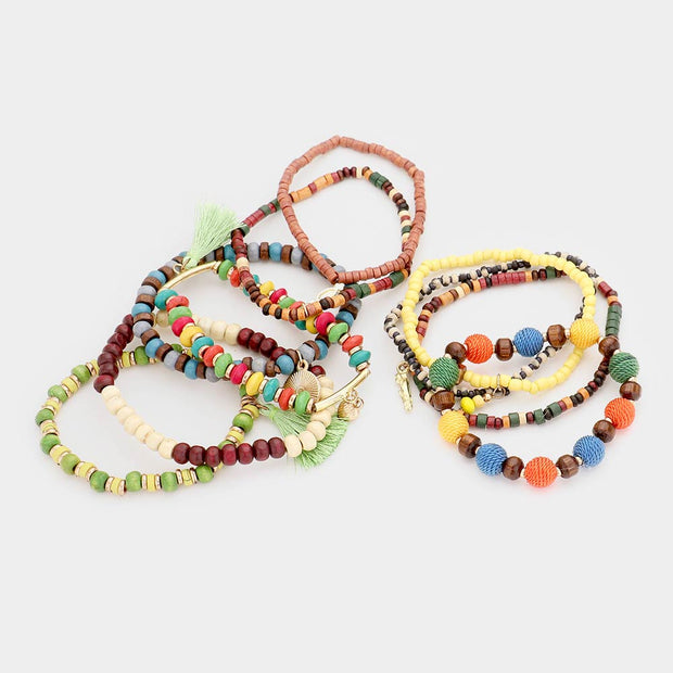 BoHo Best Bracelet Set of 10