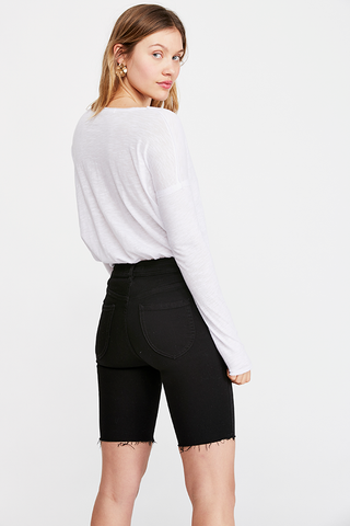 Free People Sienna Snap Sleeve Top