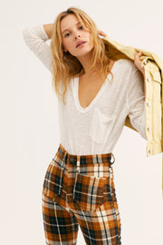 Free People Betty Long Sleeve Top