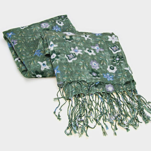 Tiny Flowers Scarf