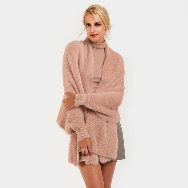 Wrap Me Up Cocoon Poncho / Sweater