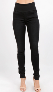 M Rena Classic Black High Waist Jeans
