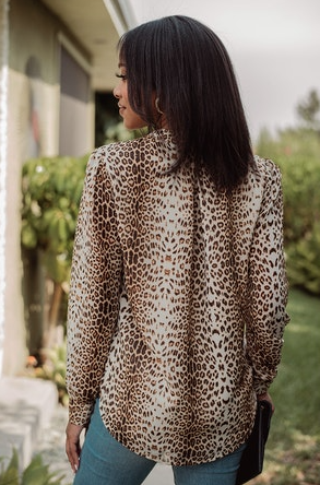 Veronica M Light Leopard Loveliness