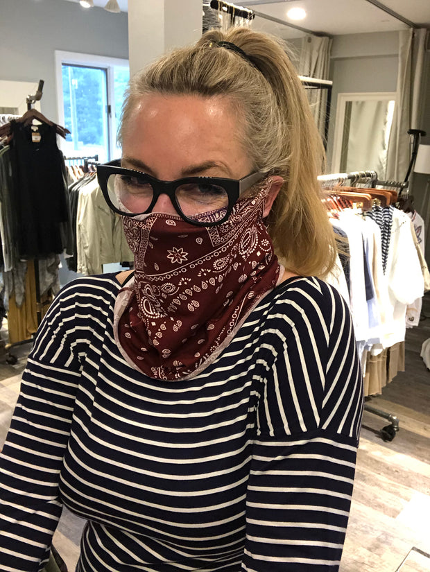 Cool Mask Scarves / Scrunchy!!