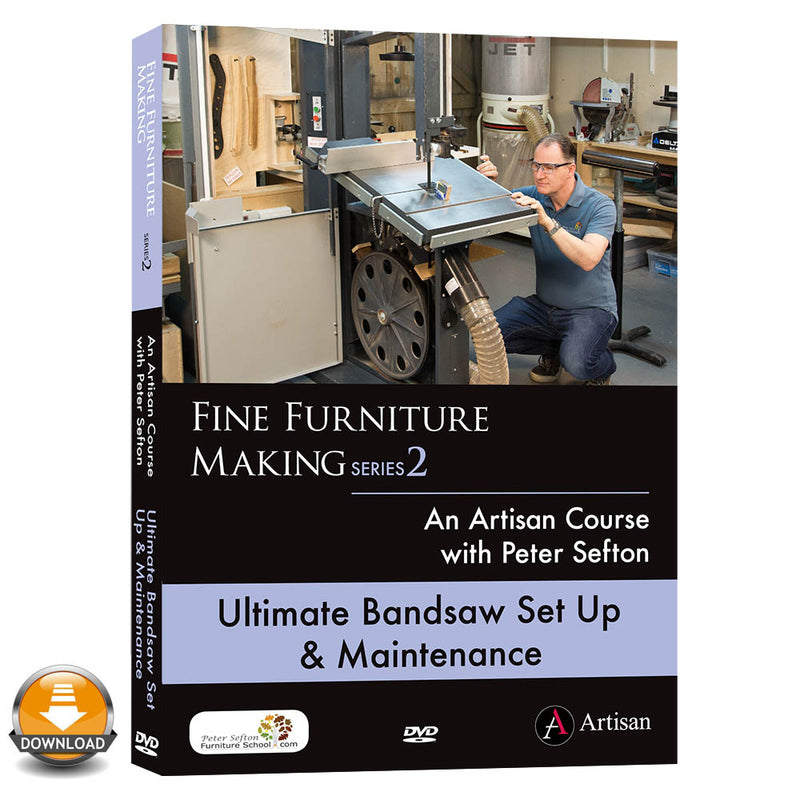 Ultimate Bandsaw Set Up & Maintenance - Peter Sefton (Download)