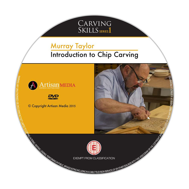 Introduction to Chip Carving - Murray Taylor (DVD)