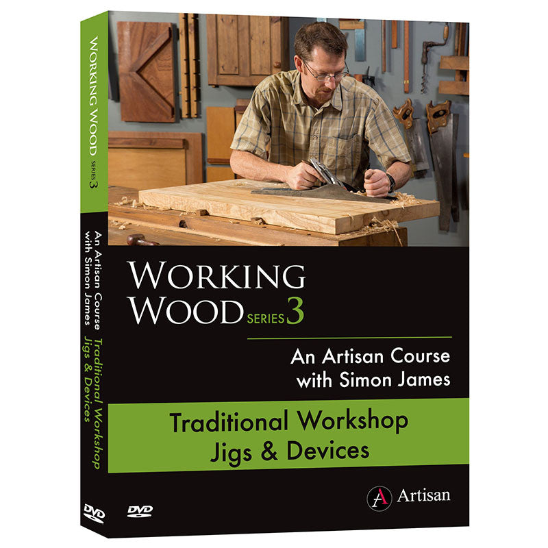 Traditional Workshop Jigs and Devices - Simon James (DVD)
