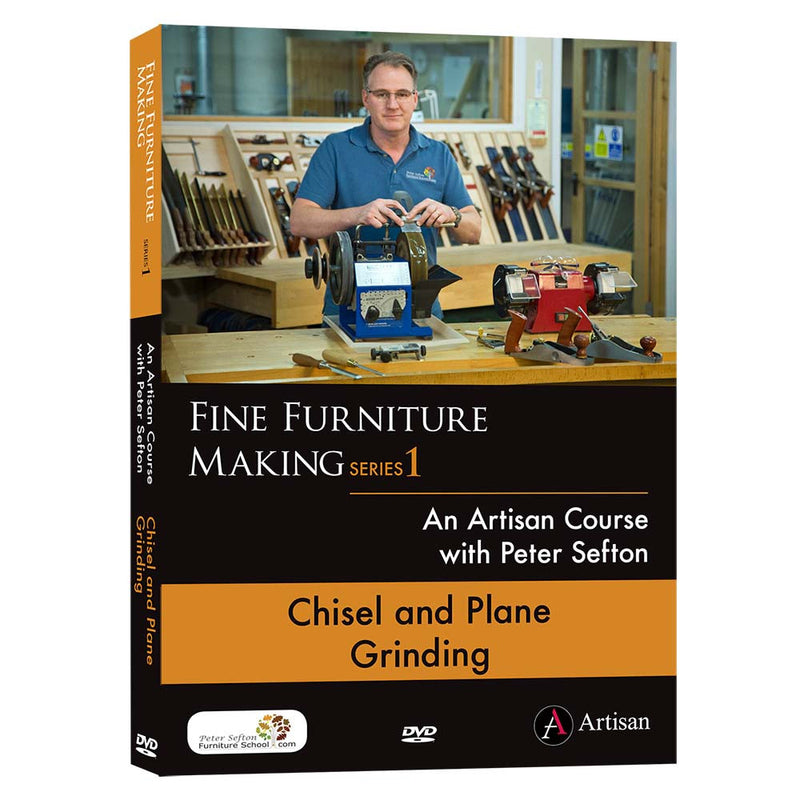 Chisel and Plane Grinding - Peter Sefton (DVD)