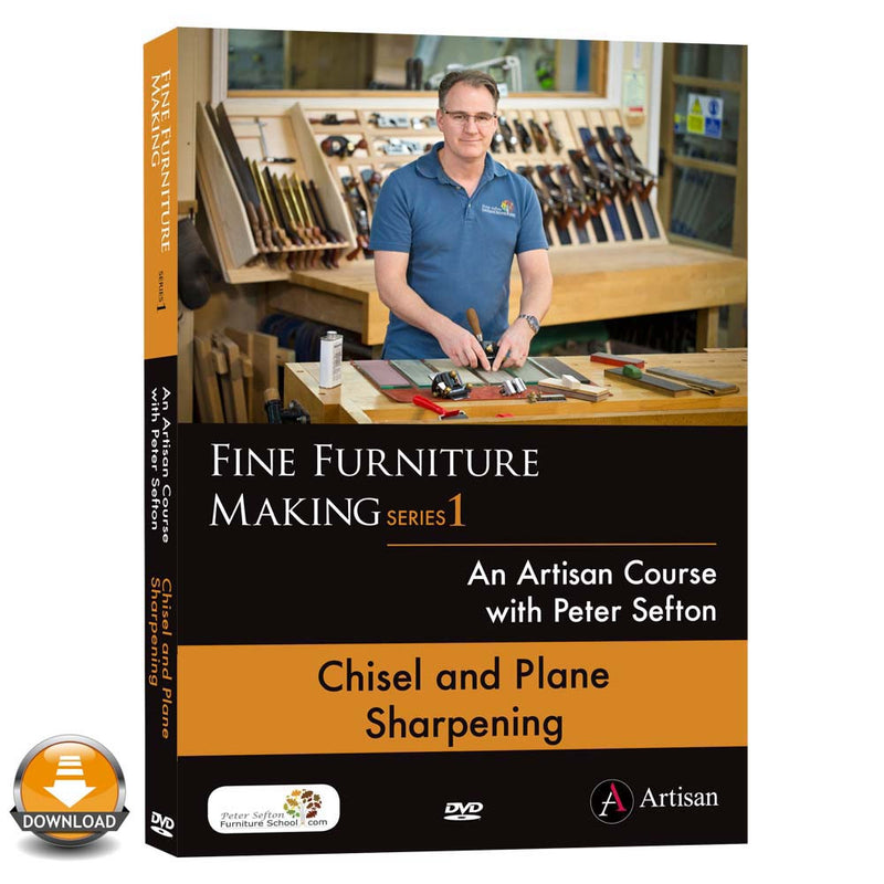 Chisel & Plane Sharpening - Peter Sefton - (Download)