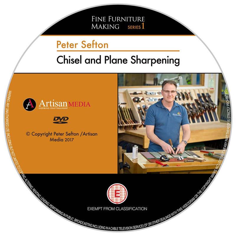 Chisel & Plane Sharpening - Peter Sefton - (DVD)