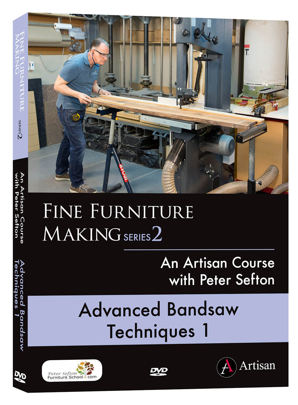 Advanced Bandsaw Techniques 1 - Peter Sefton (DVD)
