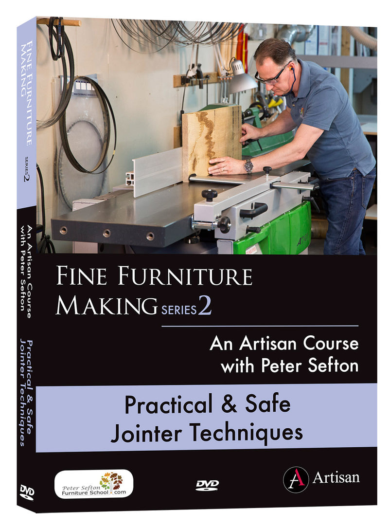 Practical & Safe Jointer Techniques - Peter Sefton - (DVD)