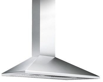 Chimney Hood, 900 mm, with Three Aluminium Grease Filters, Smeg - Woodliving