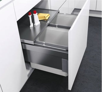 Pull Out Waste Bin, For Cabinet Width 500 mm, Vauth-Sagel VS ENVI Space - Woodliving