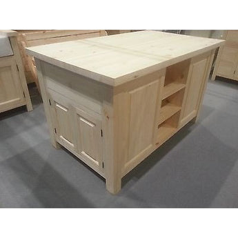 Solid Pine Island Unit, 1500mm x 800mm - Woodliving