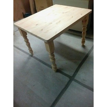 Solid Pine Farmhouse Tables Made to Size - Woodliving