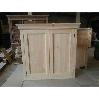 Solid pine kitchen wall cupboard - Woodliving