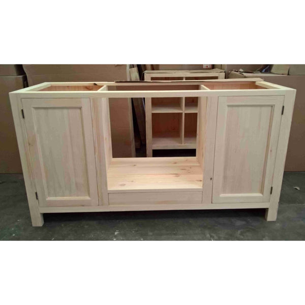 Solid pine Oven Housing Unit with 2 doors + drawer - Woodliving
