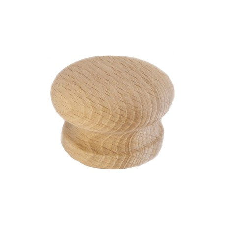 Solid Round Natural Iron Snowdon Cabinet Knobs, 3 Sizes To Choose From - Woodliving