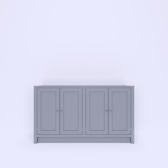 Base Unit 4 Doors (BUDR4-1350 to 1550) - Woodliving