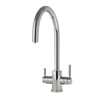 Perrin & Rowe Phoenix C Spout 3-in-1 Instant Hot Water Mixer Tap - 1912-pv - Woodliving