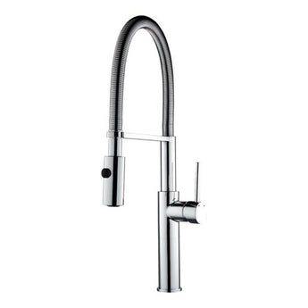 Mayfair Miami Pull Out Kitchen Spray Mixer Tap - Chrome - Woodliving