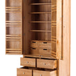 2 Door 10 Drawer Larder Cabinet with soft close drawers (SOK-015) - Woodliving