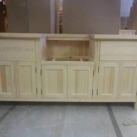 Belfast Sink Base Unit 1840mm - Woodliving