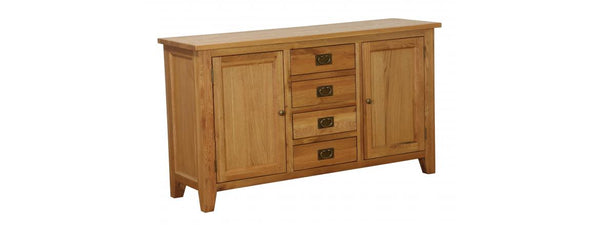 NB002B - 4 Drawer 2 Door Buffet - Woodliving
