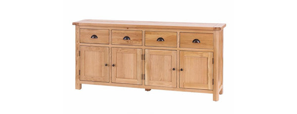 SAL032-V - Buffet with 4 Doors & 4 Drawers - Woodliving