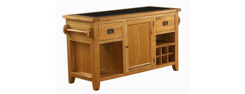 VXD006 - Granite Top Kitchen Island Unit