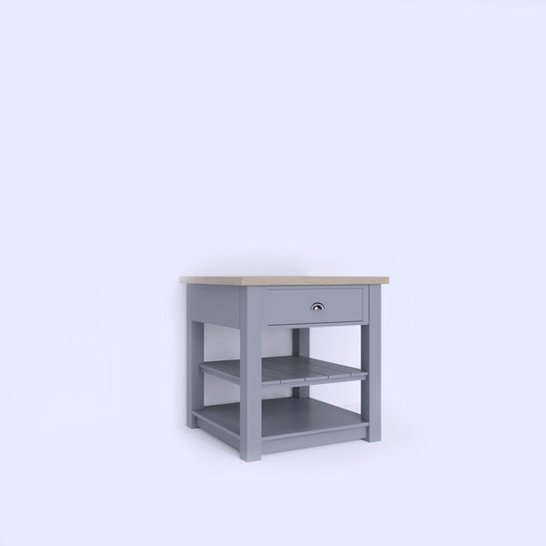 Kitchen Island Unit with Open Base (ISL-2) - Woodliving