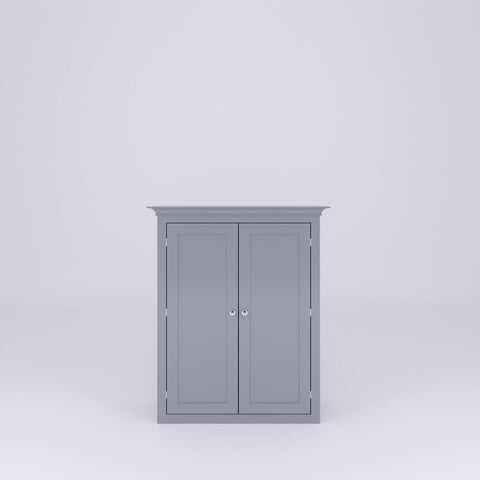 Counter Top Cabinet with 2 Doors and Cornice (CTC2 -700c to 1350c) - Woodliving